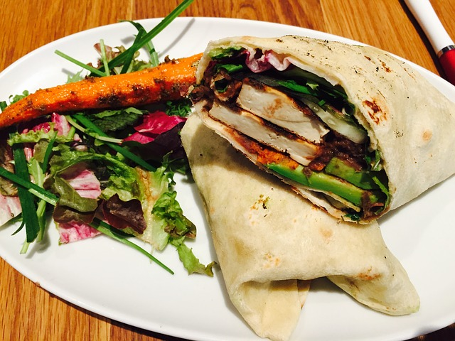 Healthy Meal Wrap