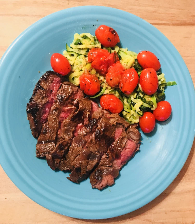 Steak and Pasta